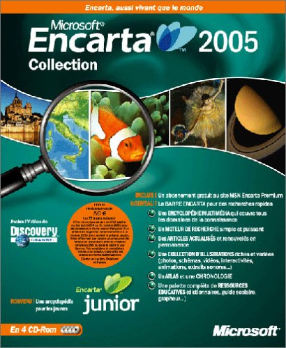 Microsoft Encarta Reference Library Premium 2005 CD (vf)