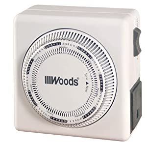 woods light switch timer manual