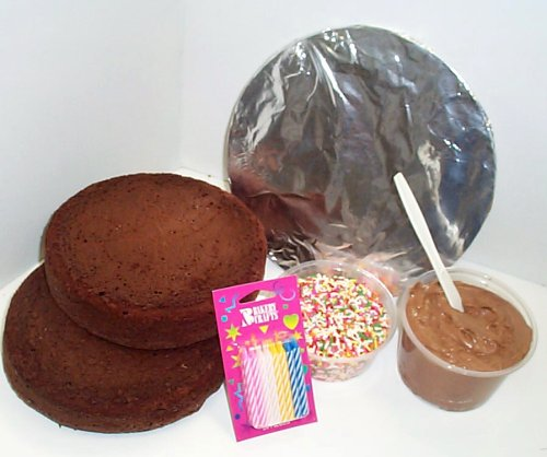 Scott's Cakes Create Your Own Cake / Chocolate Cake and Chocolate Peanut Butter Icing