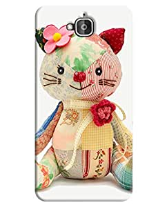 FurnishFantasy 3D Printed Designer Back Case Cover for Huawei Honor Holly 2 Plus