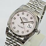 [ロレックス] ROLEX 腕時計 デイトジャスト 116234NG ピンクシェル メンズ 新 品同様品
