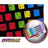 DVORAK LEARNING KEYBOARD STICKER FOR NOTEBOOK, DESKTOP AND LAPTOP