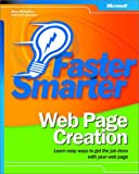 img - for Faster Smarter Web Page Creation book / textbook / text book