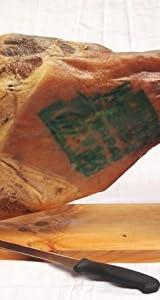 パレタセラーナ・グランレセルバ【原木生ハム約4.5キロ・台・ナイフ付き】 生ハム原木カッティングセット