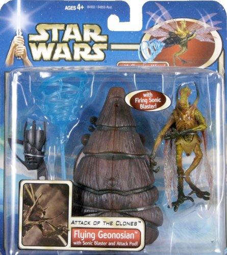 Star Wars: Episode 2 Deluxe Flying Geonosian Action Figure (Star Wars Episode 2 Figures compare prices)