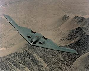 B-2 Stealth Bomber (Over Desert) Photo Print Poster Mini Poster Mini Poster Print, 20x16