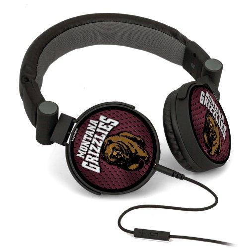 Ncaa Montana Grizzlies Dj Style Headphones