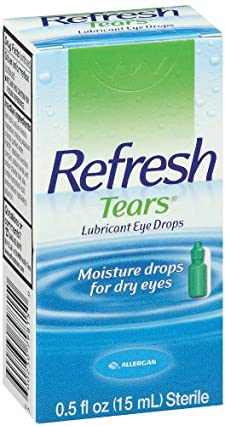 Refresh Tears Eye Drops, Lubricant, 0.5 fl oz (15 ml)