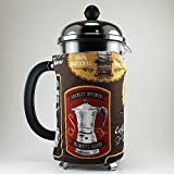 Coffee Theme Decor, French Press Cozy 8 cup