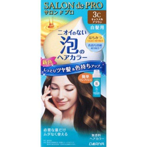 サロンドプロ ワンプッシュ泡のヘアカラー 3C
