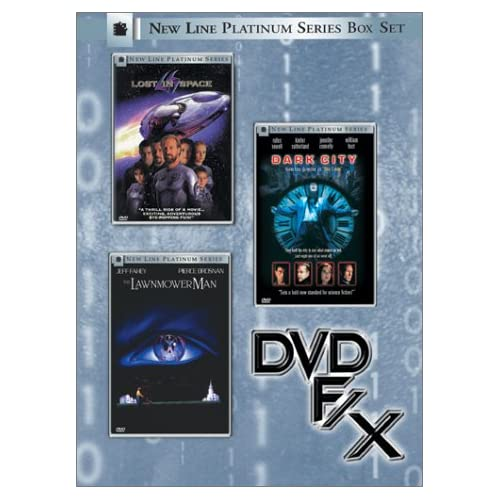 New Line Platinum Series Box Set - DVD F/X (Lost in Space/Dark City/The Lawnmower Man) movie
