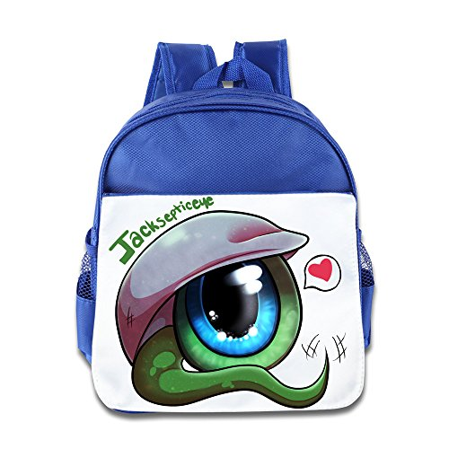 XJBD Custom Funny Big Eyes With Heart Boys And Girls Shoulders Bag For 1-6 Years Old RoyalBlue (Joseph Smith Ring compare prices)