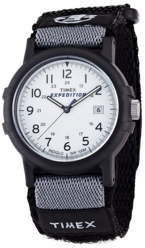 Timex Expedition Fullsize Camper White Dial Watch - T49713PF