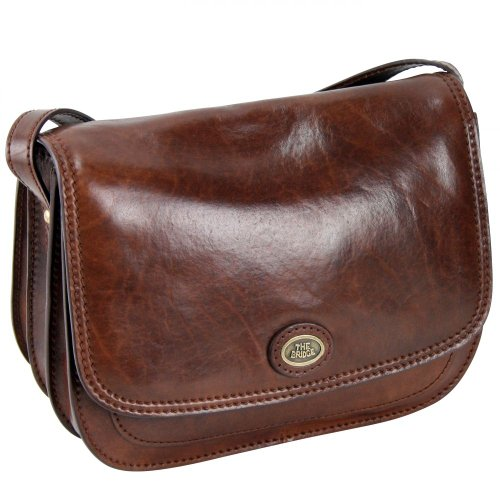 The Bridge Borsa Messenger 04415201-14 Marrone