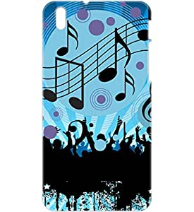 a AND b Designer Printed Mobile Back Cover / Back Case For HTC Desire 816 (HTC_816_3D_163)