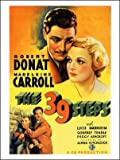 The 39 Steps Art Print Poster