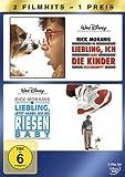 DVD Cover 'Liebling, ich habe die Kinder geschrumpft / Liebling, jetzt haben wir ein Riesenbaby [2 DVDs]