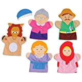 Little Red Riding Hood Storytelling Hand Puppets