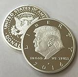 President Donald Trump 2016 Silver EAGLE Novelty Coin 30mm