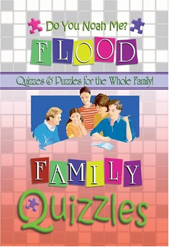 Image for Do You Noah Me: Quizzles About the Flood (Quizzles - Quizzes & Puzzles for the Whole Family!)