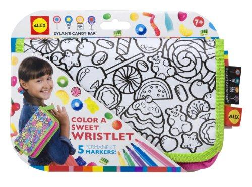 ALEX® Toys - Color a Bag!  & Accessories Color A Sweet Wristlet -Dylan's Candy Bar 504D