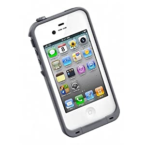 LifeProof iPhone 4 / 4S Underwater Waterproof Ultra Slim Carrying Case (White)