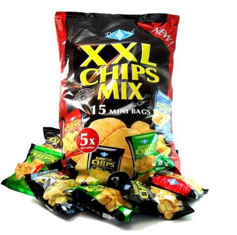 XXL Chipsmix | Chips Bundle | 15 Mini Bags | Dipworld Edition