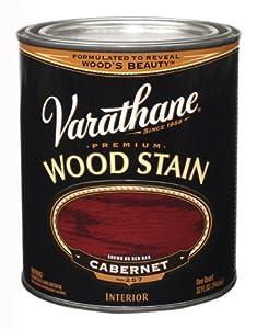 Rust-Oleum 211726H Varathane Oil Base Stain, Quart, Cabernet