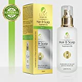 NATURAL Hair & Scalp Treatment Oil- A combination of rare & precious NATURAL oils of highly beneficial NATURAL ingredients. Unsaturated fatty acids (Omega 3 & 6) UV protection, Vitamin E, Vitamin A.
