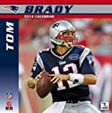 Turner - Perfect Timing 2014 New England Patriots Tom Brady Player Wall Calendar, 12 x 12 Inches (8011539)