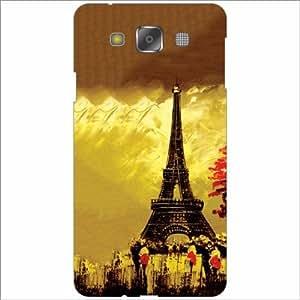 Design Worlds - Samsung Galaxy E5 Designer Back Cover Case - Multicolor Pho...