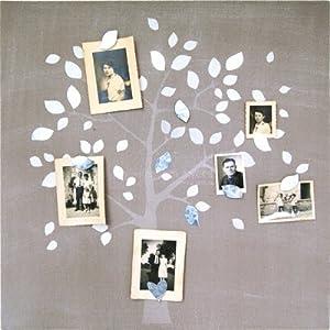 bruit de cadre p le m le toile magn tique arbre. Black Bedroom Furniture Sets. Home Design Ideas