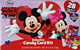 Mickey Mouse & Friends Valentines Day Candy Card Kit with 28 Cards & Lollipop...
