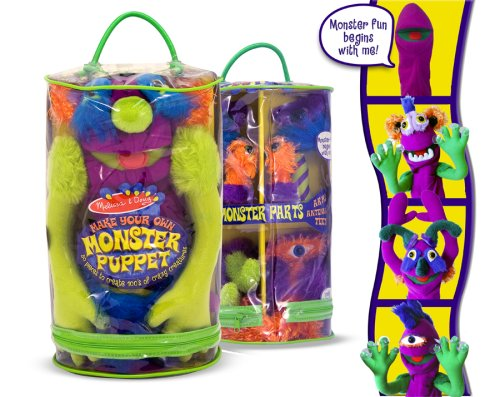 Make-Your-Own Monster Puppet by Melissa & Doug - Buy Make-Your-Own Monster Puppet by Melissa & Doug - Purchase Make-Your-Own Monster Puppet by Melissa & Doug (Melissa & Doug, Toys & Games,Categories)