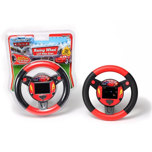 Disney Pixar's Cars The Movie Racing Wheel Lcd Handheld Video Game Picture