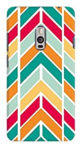 Artangle Tyre tread Color Case for One Plus Two