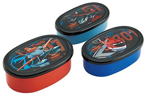 スケーター シール容器 保存容器 弁当箱 小物入れ 3Pセット プレーンズ Planes 2 ディズニー SRS3S スケーター