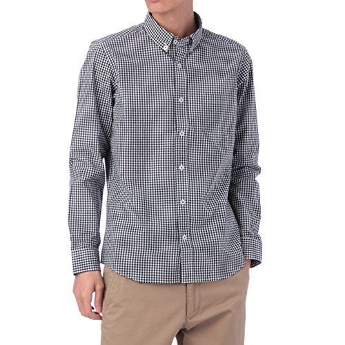 (ボイコット)BOYCOTT ギンガムチェックシャツ ブラック(219) 04(LL)