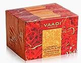 Vaadi Herbals Handmade Luxurious Saffron Soap 3x75g thumbnail
