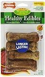 Nylabone Healthy Edible Roast Beef Bone for Pets, Petite, 8 Count Blister Pack