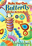 img - for Make Your Own Butterfly Sticker Activity Book (Dover Little Activity Books Stickers) book / textbook / text book