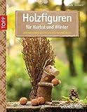 Image de Holzfiguren für Herbst und Winter: Dekorationen aus Holzscheiten und mehr