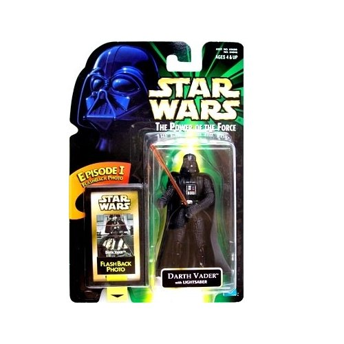 Star Wars POTF2 Power of the Force Flashback Darth Vader - 1