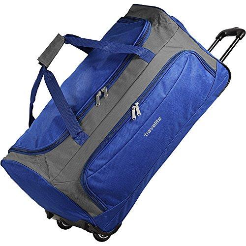 Travelite Garda XL borsone di viaggio a ruote a ruote 72 cm royal blau grau