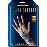 Organic Jagua Black Temporary Tattoo and Body Painting Premium Kit
