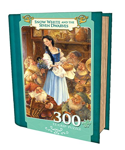 Masterpieces Snow White and the Seven Dwarfs Grip Book Box Art by Aimee Stewart Puzzle (300-Piece)