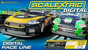 Scalextric Digital C1275 Race Line 1:32 Scale Race Set