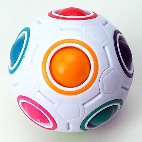 Magic Rainbow Ball Magic Cube Puzzle Cube