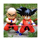 Japan Anime Dragon Ball Z DBZ Goku Kuririn 2PCS/set PVC Action Figure