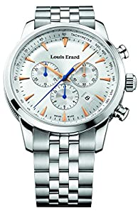 Louis Erard Heritage Collection Swiss Quartz Silver Dial Men's Watch 13900AA11.BMA38